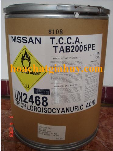 TRICHLOROISOCYANNURIC ACID 90 (TCCA 90%)